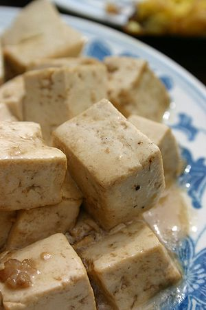 Tofu can be a valuable source of protein, iron...