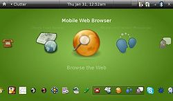 Ubuntu Mobile, diseñado para dispositivos empotrados.