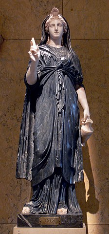 This statue of Isis is easily mistaken for Mary