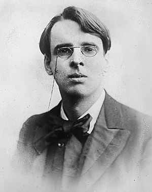 William Butler Yeats (1865 – 1939), Irish poet...