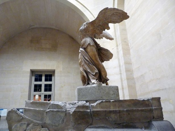 Winged Victory of Samothrace, Paris 18 December 2009