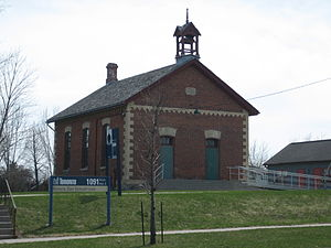 English: Zion Schoolhouse, Toronto