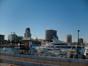 Downtown St. Petersburg, Florida during the 20...