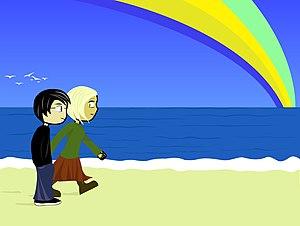 """Somewhere, over the-"" (Rainbow)"