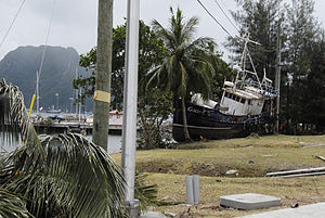 English: Pago Pago, AS, October 1, 2009 -- Pag...