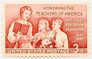 Honoring the teachers of America. National edu...