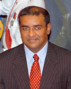 Bharrat Jagdeo, president of Guyana.