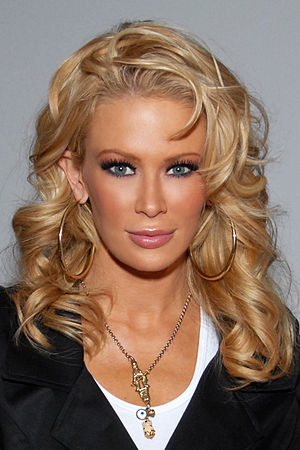 English: Jenna Jameson, Culver City, CA on Mar...