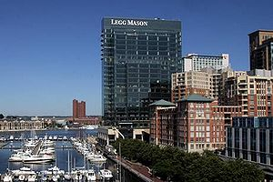 Legg Mason Tower, Legg Mason Headquaters