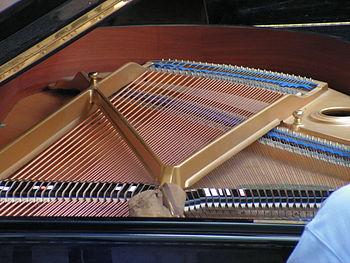 Piano-inside
