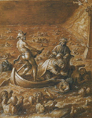 Illustration of Dante's Inferno, Canto 8