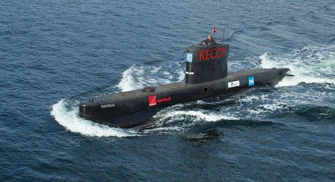 Submarine UC3Nautilus seatrials 2008