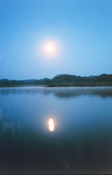 File:A full moon reflecting off the river - NOAA.jpg