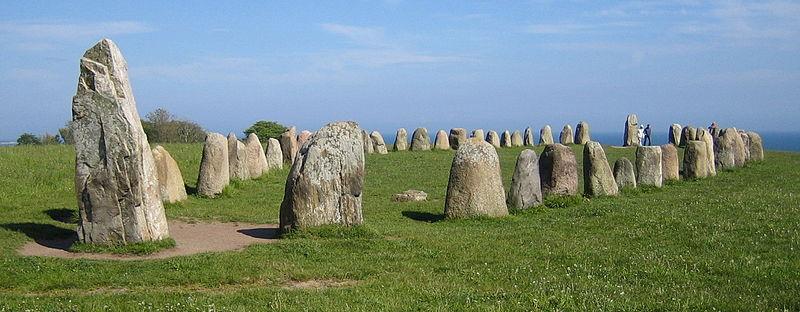 Ales stenar (bron Wikimedia Commons)