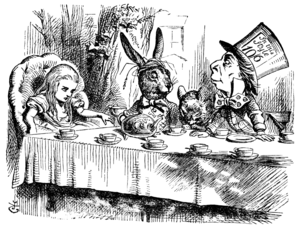 "John Tenniel's illustration for ""A Mad Te..."