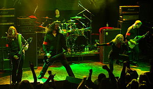 Swedish melodic death metal band Arch Enemy