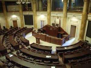 English: The Arkansas House of Representatives...