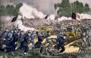 The battle of Gettysburg, Pa. July 3d. 1863, d...