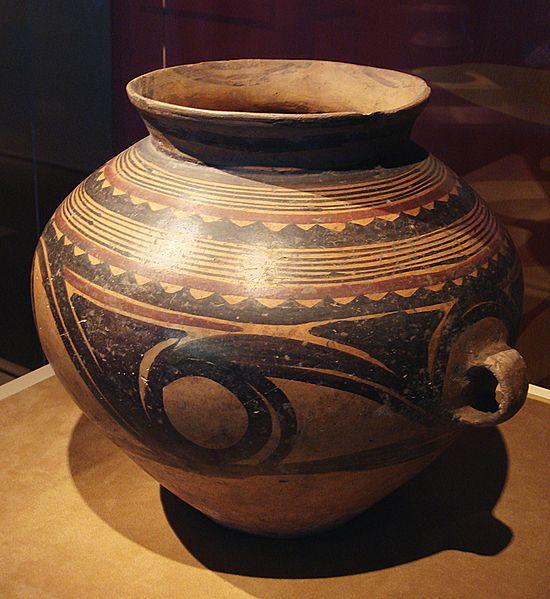 File:CMOC Treasures of Ancient China exhibit - painted jar.jpg