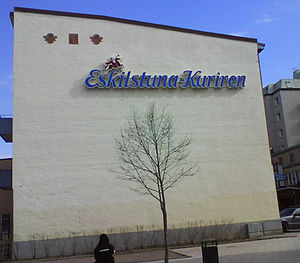 English: Local of Eskilstuna-Kuriren in Eskils...