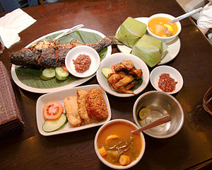 English: Sundanese Cuisine Bahasa Indonesia: M...