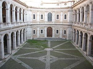 Italiano: Chiesa di Sant'Ivo alla sapienza int...