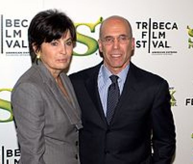 Marilyn And Jeffrey Katzenberg In 2010