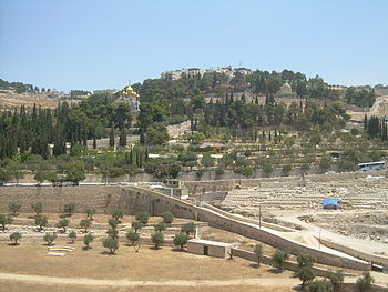 English: Mount of Olives.
