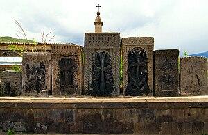 English: Kachqars of Vanadzor, Armenia