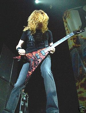 Dave Mustaine, May 2007