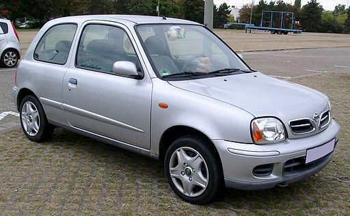Nissan Micra front 20081017