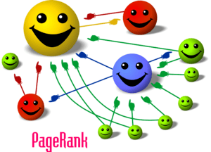 Casual PageRank diagram