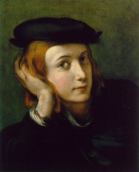 File:Parmigianino - Portrait of a Young man.jpg