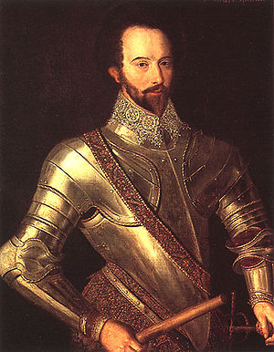 Portrait von Sir Walter Raleigh