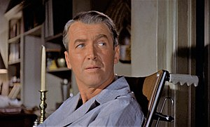 Cropped screenshot of James Stewart from the t...