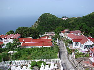 Typical Saba view.