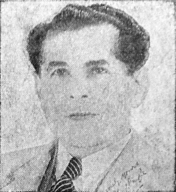 English: Photograph of Edwin J. Dingle, Fellow...