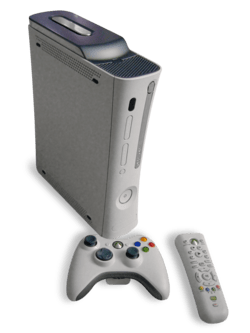 Microsoft XBOX 360 console gaming
