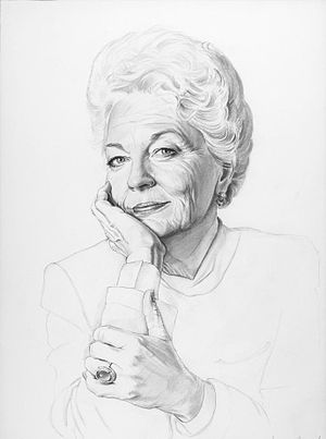 English: Portrait of Ann Richards