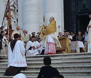 Angelo Scola, Cardinal Patriarch of Venice, ho...