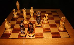 Checkmate in Chess.