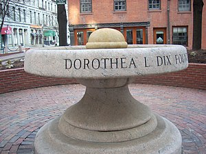 the Fountain for thirsty horses that Dorothea ...