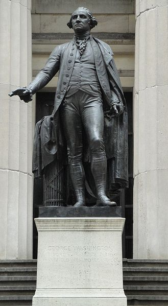 File:George Washington Statue at Federal Hall.JPG
