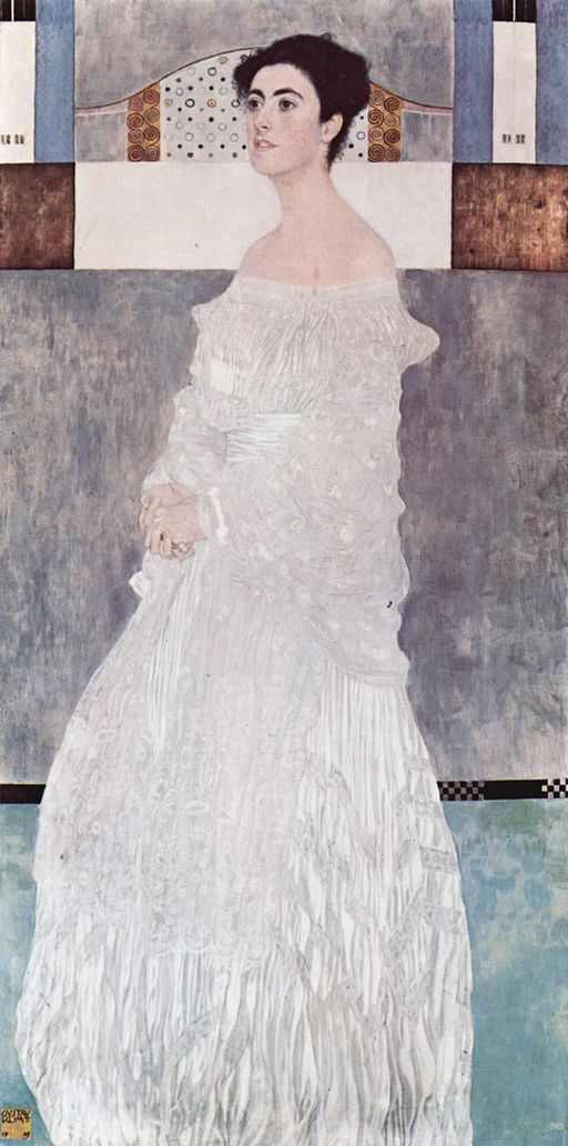 """Margaret Stonborough-Wittgenstein"" by Gustav Klimt"