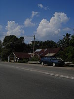 A kampung in the Malaysian state of Johor
