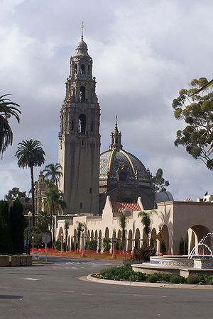 The Museum of Man in Balboa Park, San Diego.