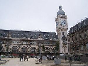 Entrance of the Paris gare de Lyon station