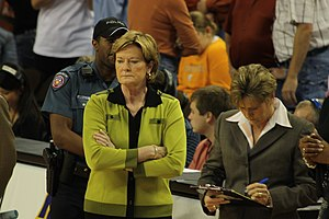 Tennessee Volunteers head women's basketball c...