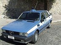 Negli anni settanta, durante il ministero Cossiga, le auto furono ridipinte nella nuova livrea bianco-azzurra. L'appena creata Alfa Romeo Giulietta entrò in dotazione direttamente con i nuovi colori.