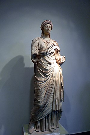 Poppaea Sabina. 2nd wife of emperor Nero. Arch...
